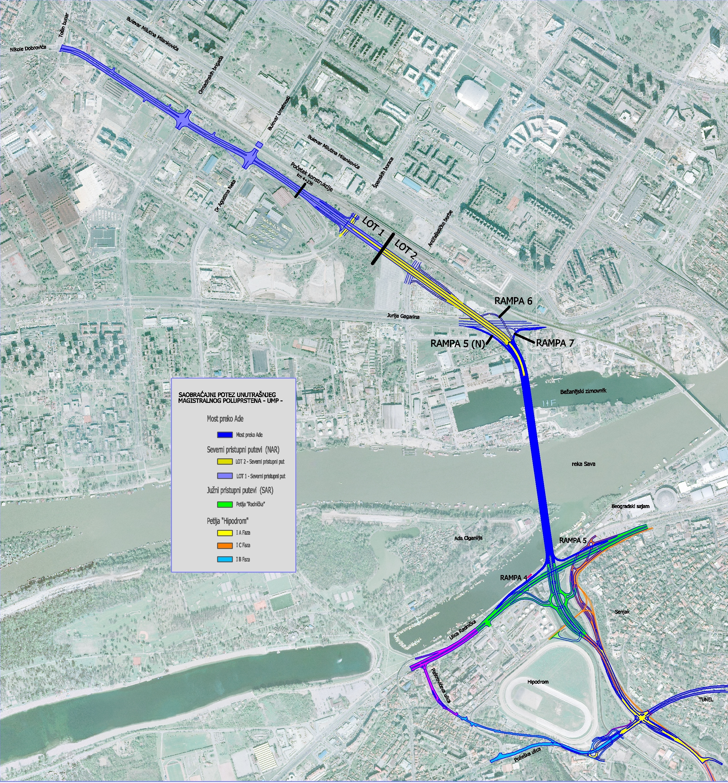 mapa beograda most na adi AliQuantum | Projektovanje i Inženjering, Besplatne konsultacije  mapa beograda most na adi
