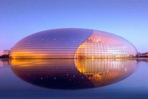 Beijing National Grand Theater, The Egg, Tiananmen, Beijing, China