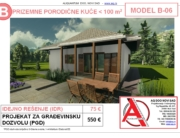 MODEL B-06, gotovi projekti vec od 50e, projekti, projektovanje, izrada projekata, house design, house ideas, house plans, interior design plans, house designs, house