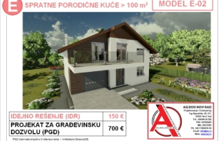 MODEL E-02, gotovi projekti vec od 50e, projekti, projektovanje, izrada projekata, house design, house ideas, house plans, interior design plans, house designs, house