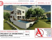 MODEL E-12, gotovi projekti vec od 50e, projekti, projektovanje, izrada projekata, house design, house ideas, house plans, interior design plans, house designs, house