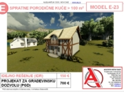 MODEL E-23, gotovi projekti vec od 50e, projekti, projektovanje, izrada projekata, house design, house ideas, house plans, interior design plans, house designs, house