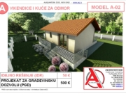 MODEL A-02, gotovi projekti vec od 50e, projekti, projektovanje, izrada projekata, house design, house ideas, house plans, interior design plans, house designs, house