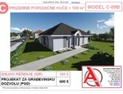 MODEL C-09B, gotovi projekti vec od 50e, projekti, projektovanje, izrada projekata, house design, house ideas, house plans, interior design plans, house designs, house