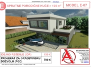 MODEL E-07, gotovi projekti vec od 50e, projekti, projektovanje, izrada projekata, house design, house ideas, house plans, interior design plans, house designs, house