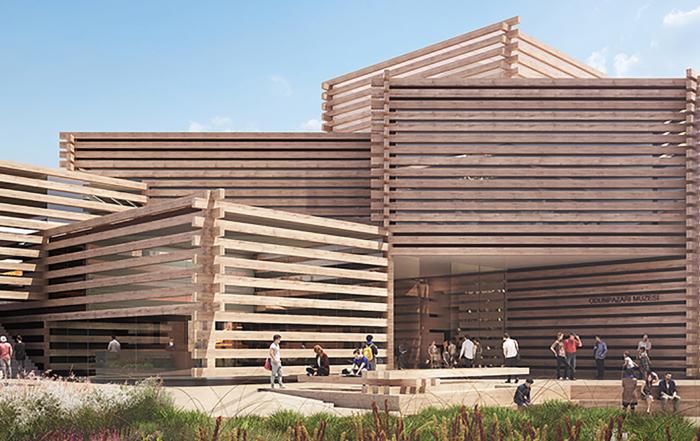 Muzej koji budi centar studentskog grada u Turskoj