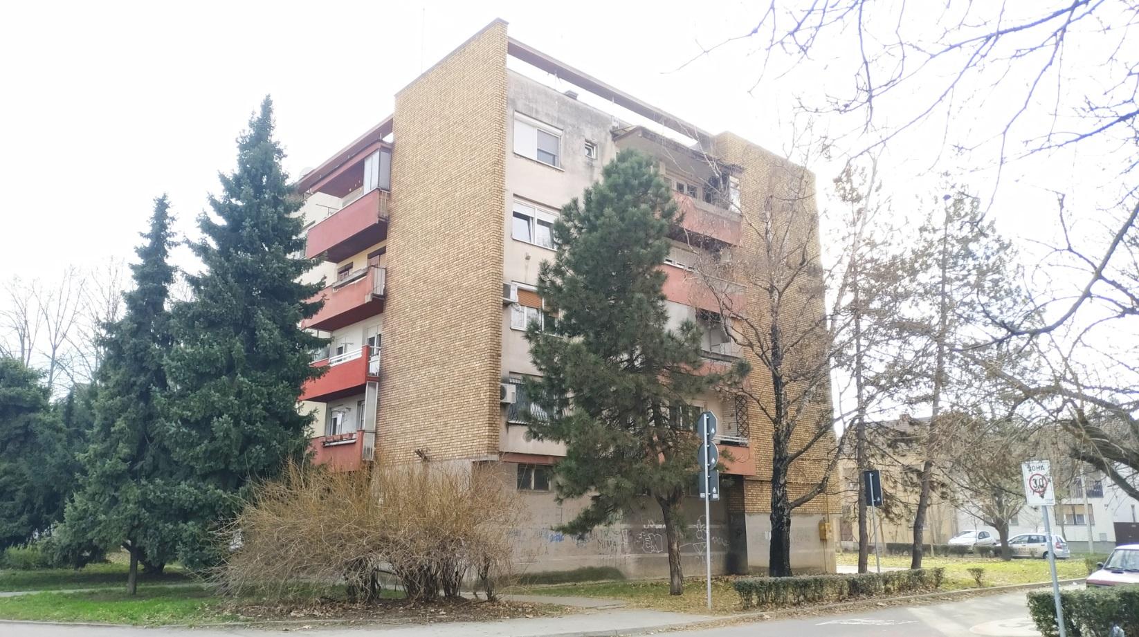 Pogled na objekat sa Preradovićeve ulice