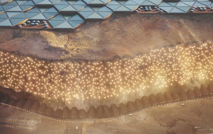 Nuva prvi grad na Marsu