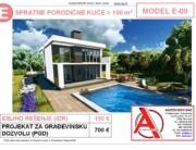 MODEL E-09, gotovi projekti vec od 50e, projekti, projektovanje, izrada projekata, house design, house ideas, house plans, interior design plans, house designs, house