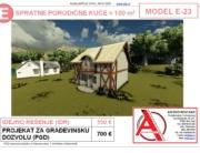 MODEL E-23, gotovi projekti vec od 50e, projekti, projektovanje, izrada projekata, house design, house ideas, house plans, interior design plans, house designs, house