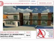 MODEL E-01, gotovi projekti vec od 50e, projekti, projektovanje, izrada projekata, house design, house ideas, house plans, interior design plans, house designs, house