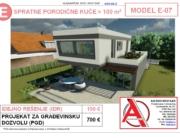 MODEL E-07, gotovi projekti vec od 50e, projekti, projektovanje, izrada projekata, house design, house ideas, house plans, interior design plans, house designs, house