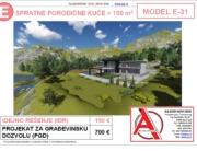MODEL E-31, gotovi projekti vec od 50e, projekti, projektovanje, izrada projekata, house design, house ideas, house plans, interior design plans, house designs, house